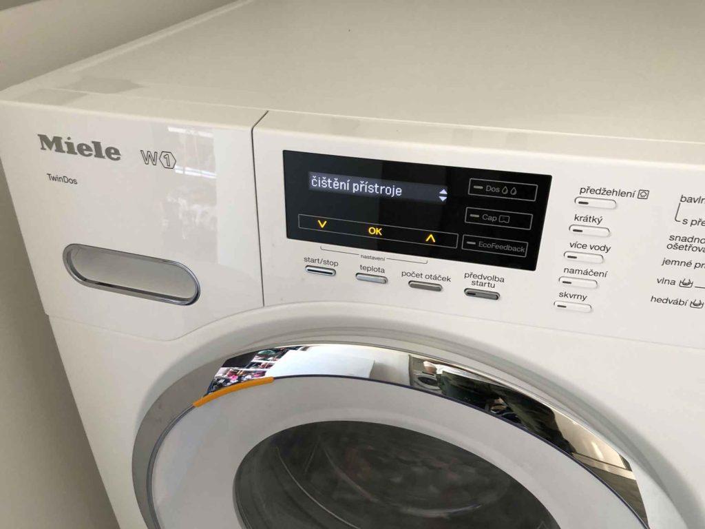 Čištění pračky