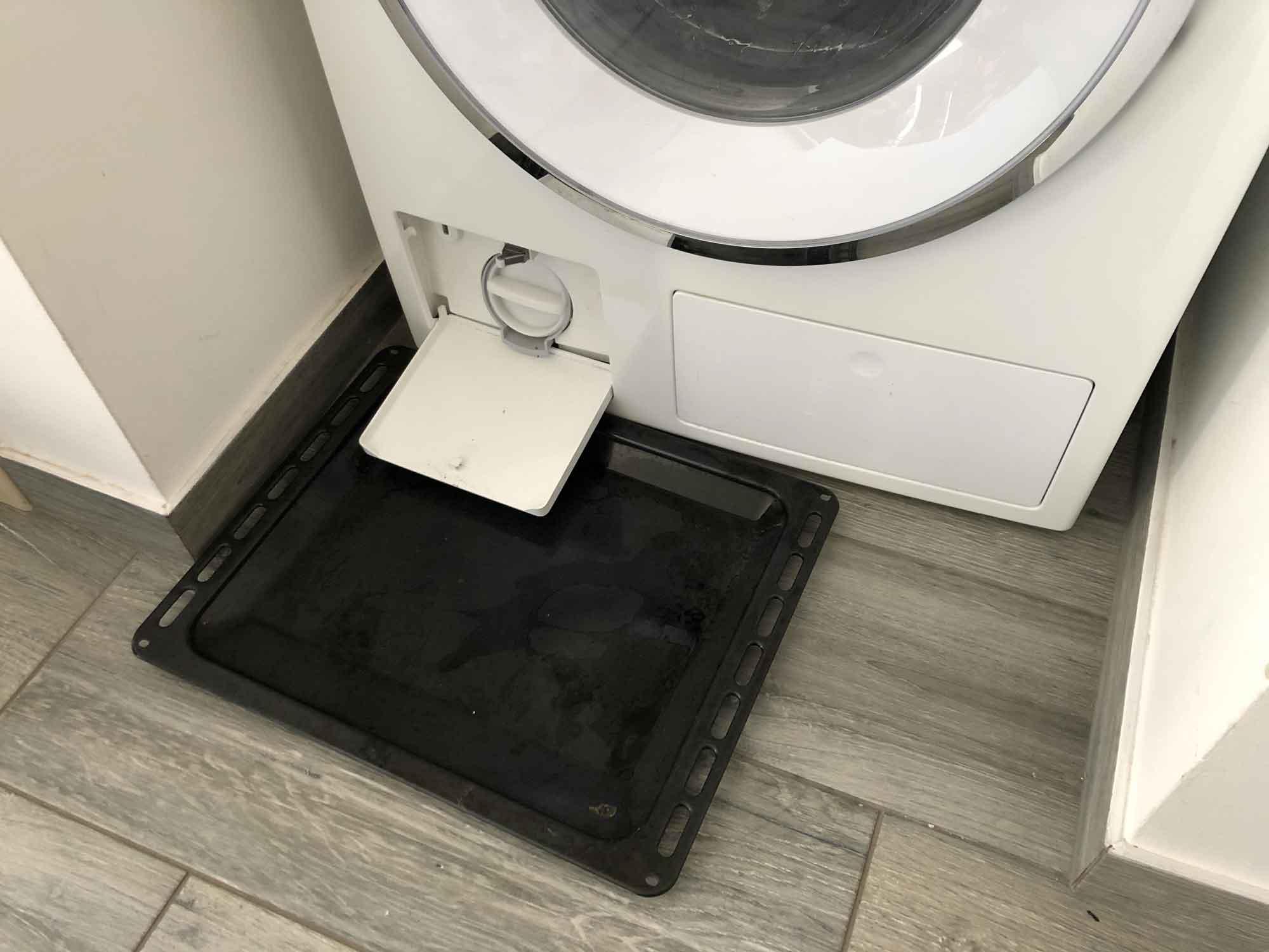 Jak vypustit vodu z pračky